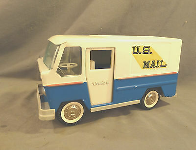 1960's Vintage USPS Pressed Steel US MAIL Delivery TRUCK Old BUDDY L Toy VEHICLE