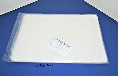 100 CLEAR 8 x 10 POLY BAGS PLASTIC LAY FLAT OPEN TOP PACKING ULINE BEST 1 MIL