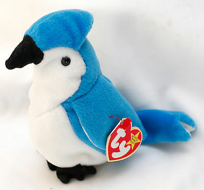 Vintage Beanie Babies Collection Rocket Date Of Birth 3 /12/1997