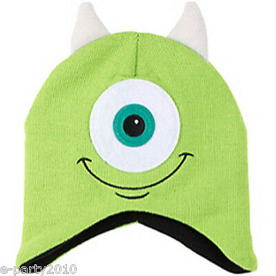 MONSTERS INC Mike CHILD HAT ~ Disney Birthday Party Supplies Favors Gifts Green