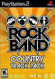 ROCK BAND TRACK PACK: COUNTRY PS2 PLAYSTATION 2 Game Only