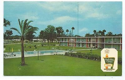 CRYSTAL RIVER FLORIDA Holiday Inn Unposted Post Card #737
