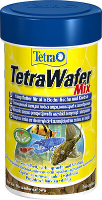 Tetra  WAFER MIX - AQUARIUM SINKING FISH FOOD BOTTOM FEEDERS 48g/100ml