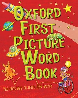 Oxford First Picture Word Book by Heather Heyworth (PB)