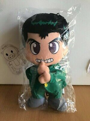Yu Yu Hakusho Official Genuine Yusuke Urameshi Plush GE6034 *NEW*
