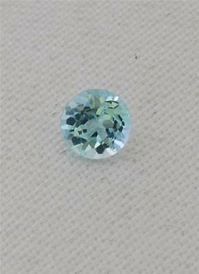 1 x Natural Blue Topaz Stone, Round-Cut, NEW, APPROX 2.30mm. LOWEST PRICE.  BT2