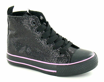 Wholesale Girls Hi Tops 14 Pairs Sizes 10-2  H4093