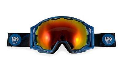 K2 Photokinetic Pro Snowboard Goggles 2015 in Blue w Grey Red Optic Mirror