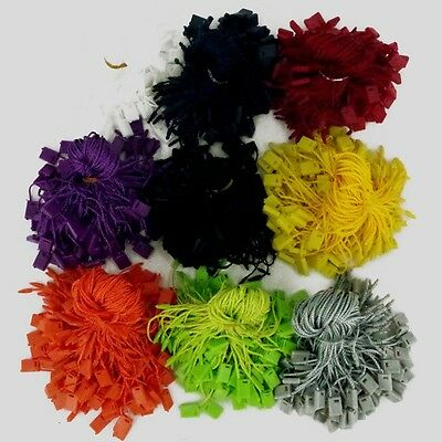 "Hang Tag, Tags Nylon String Snap Lock Pin Loop Fastener Hook Tie,100 pcs 7"" Long"