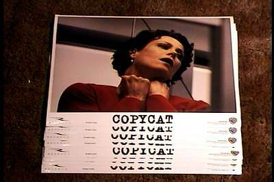 COPYCAT 11x14 LOBBY CARD SET '95 SIGOURNEY WEAVER SERIAL KILLER