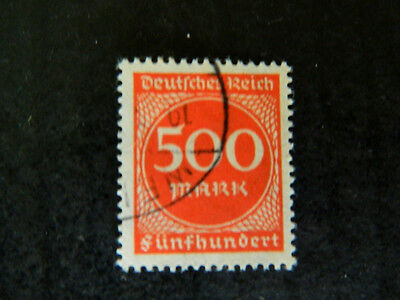 1922 1923  germany reich officials numericals numeral 500 M uh