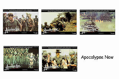 Apocalypse Now - Set Of 5 A4 Sized Reprint Lobby Posters