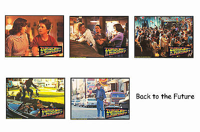 Back To The Future - Set Of 5 A4 Sized Reprint Lobby Posters