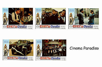 Cinema Paradiso - Set Of 5 A4 Sized Reprint Lobby Posters