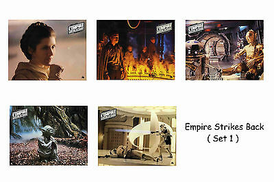 Empire Strikes Back - Set Of 5 A4 Sized Reprint Lobby Posters # 1