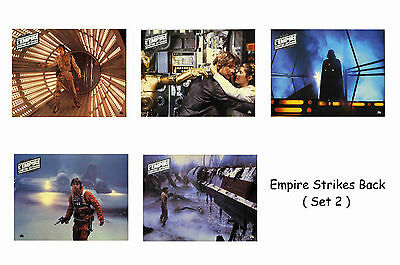 Empire Strikes Back - Set Of 5 A4 Sized Reprint Lobby Posters # 2