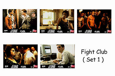 Fight Club - Set Of 5 A4 Sized Reprint Lobby Posters # 1