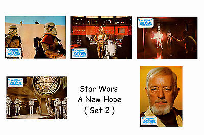 Star Wars  - Set Of 5 A4 Sized Reprint Lobby Posters # 2