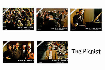 The Pianist  - Set Of 5 A4 Sized Reprint Lobby Posters # 1