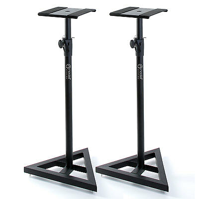 Premium Studio Monitor Stands: Speaker Stand for Monitors with Lifetime Warranty