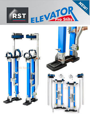 "RST Elevator 18"" To 30"" Adjustable Plastering Drywall Painting Stilts, RTR1830E"