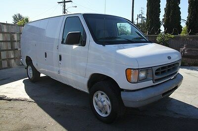 Ford : E-Series Van E250 2001 ford econoline e 250 cargo van automatic 6 cylinder no reserve