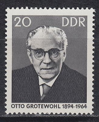 DDR East Germany 1965 ** Mi.1153 Otto Grotewohl Politiker Politician