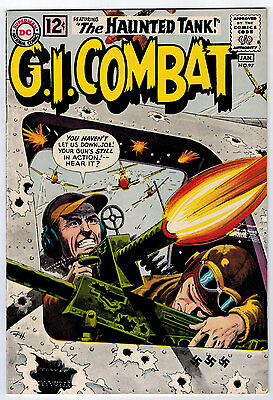 Gi Combat #97 6.5 Haunted Tank White Pages Silver Age Wash/greytone Cover