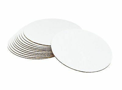 8 in Cake Circle Boards 12 ct. from Wilton #80  - NEW