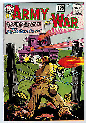 Our Army At War #123 6.0 Off-White Pages Silver Age