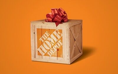 Home Depot Gift Card $25/ $50/ $100 - Mail delivery