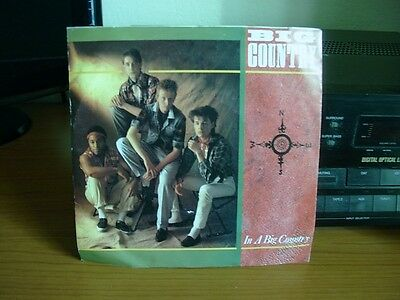 45 Giri - Big Country - In A Big Country - All Of Us - Mercury 812467 7