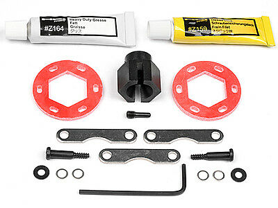 HPI Savage X/Savage XL FIBERGLASS DUAL DISK BRAKE CONVERSION KIT - 87025