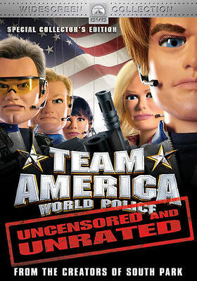 Team America (DVD, 2005, Widescreen Collection/Unrated) SEALED NEW