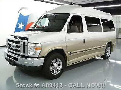 Ford : E-Series Van CONVERSION!! 2010 ford e 150 tuscany hi roof htd leather dvd 42 k mi a 89413 texas direct auto