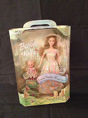 Barbie and Kelly Easter Garden Hunt Gift Set Target Special Edition New in Box!