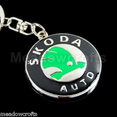 Skoda Key Ring NEW with Gift Box - UK Seller - Car Keyring