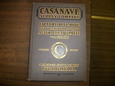Casanave Supply Company Cat.No.29, Color Illustrated, Factory, Mill, Mine, Etc.
