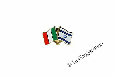 Italy - Israel Flags Pin Flag Pins