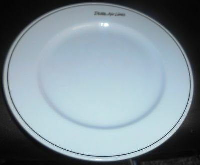 1960s delta airlines restaurant china plate abco dinnerware