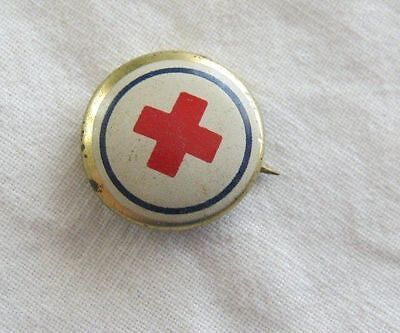 Vintage Red Cross Pin Date Unknown