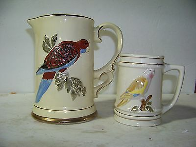 2 Jim Beam Special Australian Tankards & Mug 1983 & 1984 By Regal China