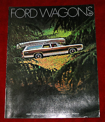 1969 Ford Wagons Sales Brochure