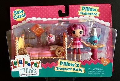 Lalaloopsy Mini Pillow Featherbed Pillow's Sleepover Party, NEW