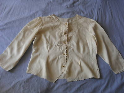 Beautiful Vintage Hand-Embroidered Shirt