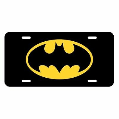 Batman License Plate Tag Made In The USA metal new