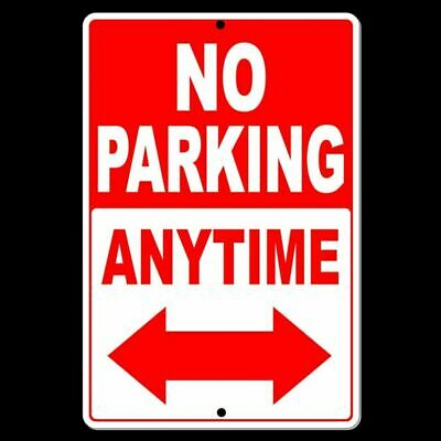 No Parking Anytime Safety Sign Made In USA aluminum Free Shipping security NP26