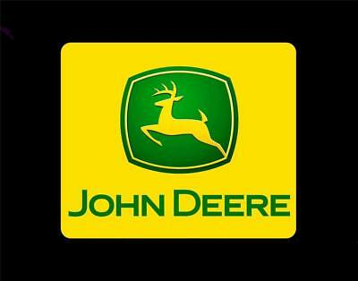 John Deere Mouse Pad     tractor farm home new yard garden equipment  P009