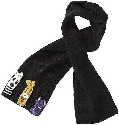 Kidorable Kids Knitted Noah's Ark Scarf Childrens / Childs Boys Knitwear Scarves