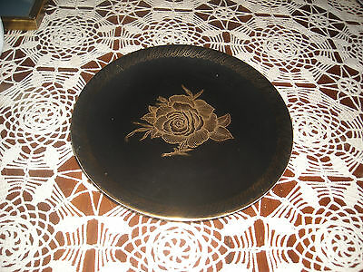 Bavaria made in Germany Black and Gold Plate